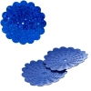 Sequins Hologram 36mm With Hole Flower Royal Blue